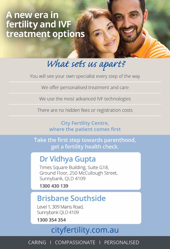 City fertility centre a new era in fertility and ivf for 259 wickham terrace brisbane