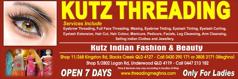 Kutz Indian Fashion & Beauty – Brisbane Indian Times